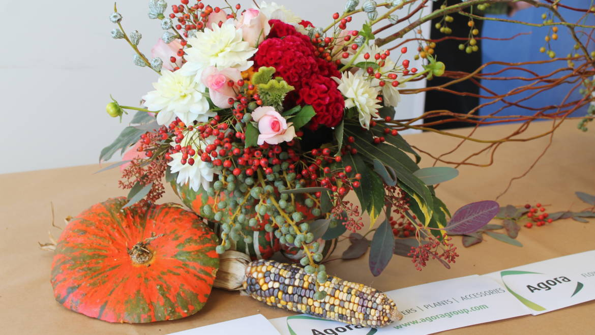 "Flower Arrangement Tutorial ""Autumn in Sanremo"""