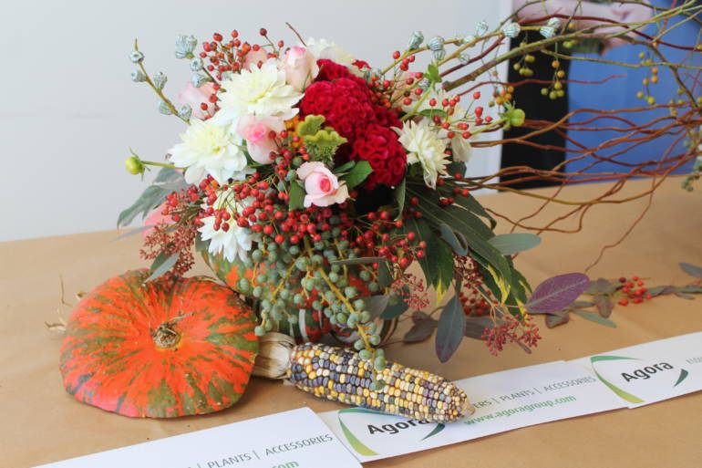Flower Arrangement Tutorial « Autumn in Sanremo »